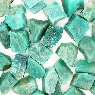 amazonite brute pierre fine minerale