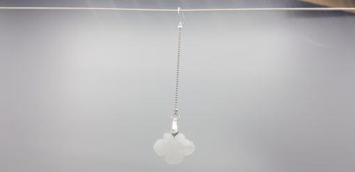 Mono boucle d'oreille nuage