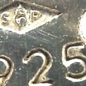 Argent 925 poinçon