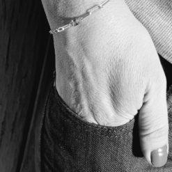 bracelet filaire haut cube xxl
